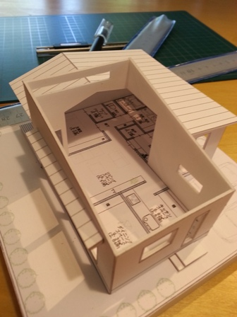 住宅模型教室~事前研修~