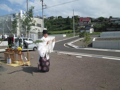 富士市S邸「地鎮祭」