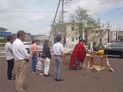 富士市U邸「地鎮祭」